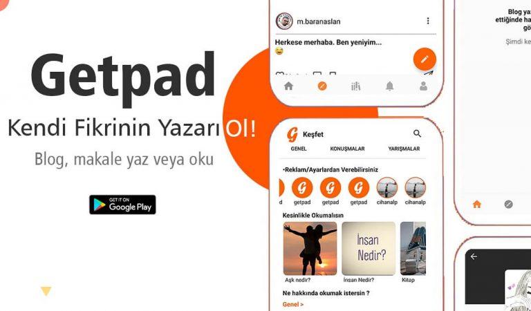 Geleceğin Makale Uygulaması GetPad'in Mucidi İle Söyleşi