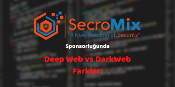 dark web ve deep web